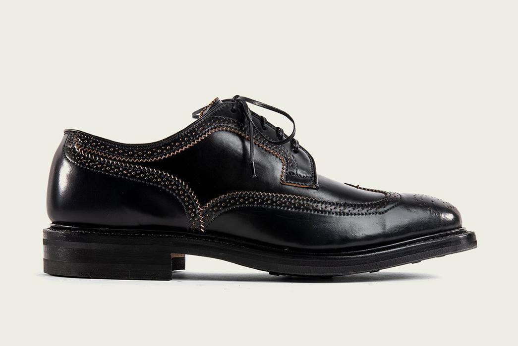 Viberg-Craft-a-Classy-Quartet-of-Shell-Cordovan-Brogues-black-shoe-side-2