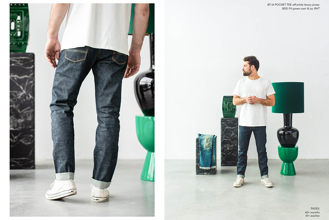Benzak Denim Developers Collaborate With Dutch Interior Wizards Pols Potten For a Fade-Heavy Lookbook 3