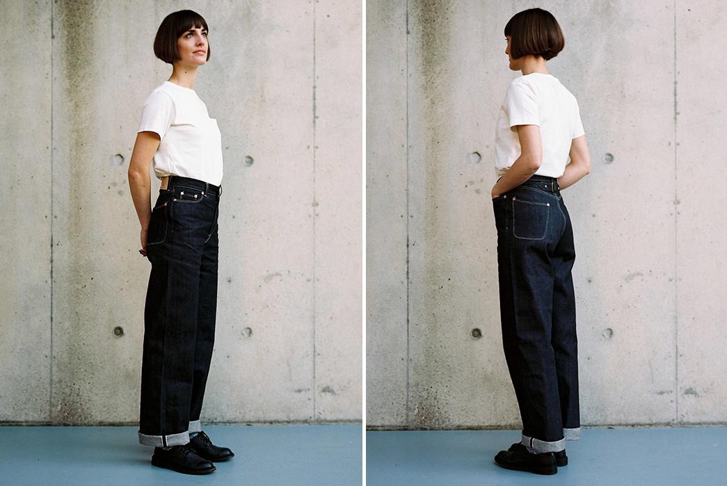 Dawson-Denim-Introduces-Women's-Jeans-model front-back