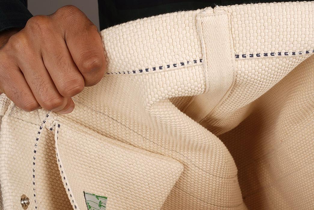 Epaulet-Crafts-a-Super-Heavyweight-Sashiko-Tote-Bag-model-white-inside