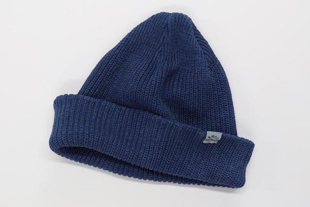 Fade-Friday---Knickerbocker-x-Curious-Corners-Watch-Cap-(2-Years,-Unknown-Wears)-blue