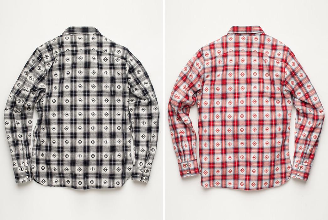 Freenote-Cloth-Modern-Western-Shirt-backs-black-and-red