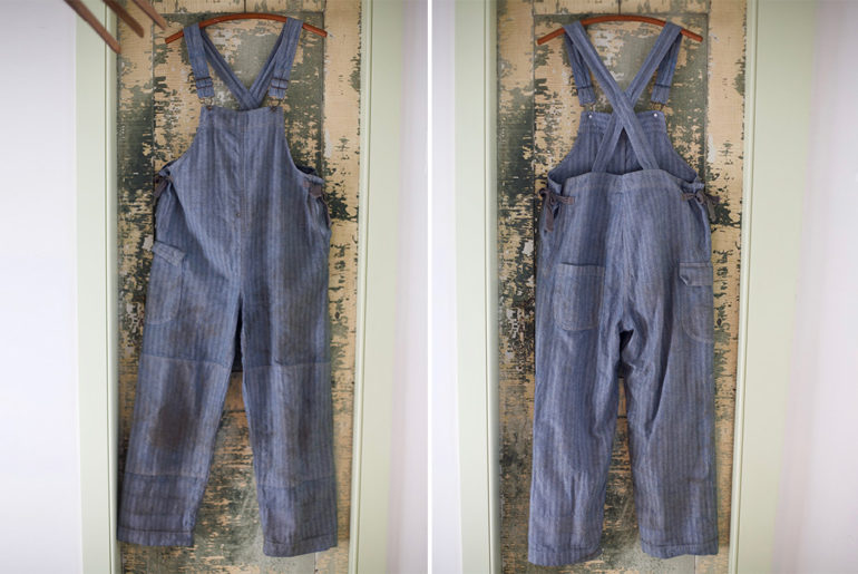 Gamine-Workwear's-Bobby-Bibs-Honor-Legendary-East-Coast-Vintage-Aficionado-Bobby-Garnett-front-back</a>