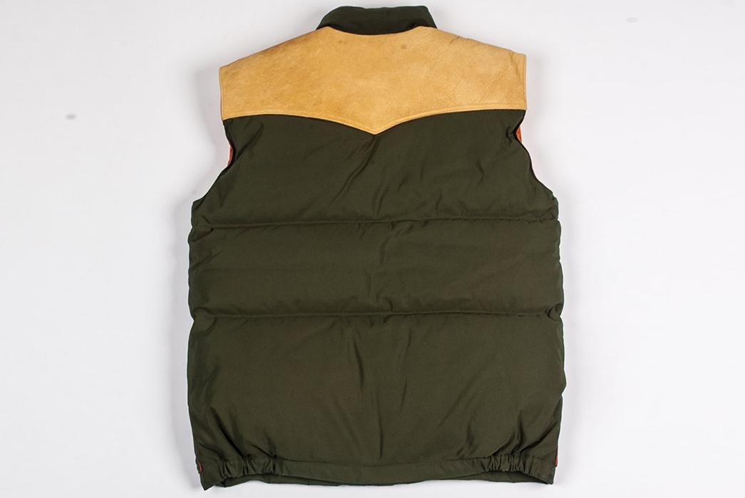 Ginew Elk Down Vest back-