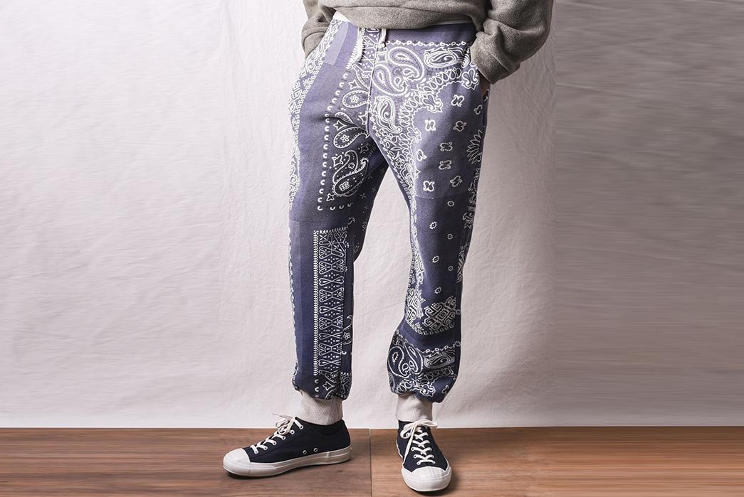 Kapital-Praises-Paisley-With-a-Two-Piece-Of-Bandana-Fleecy-Knit-Goodness-front-legs