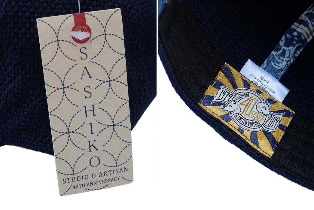 Okayama-Denim-x-Studio-d'Artisan-Indigo-Sashiko-Selvedge-6-Panel-Baseball-Cap-brands