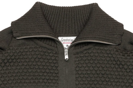 S.N.S.-Herning-Reels-in-Virgin-Wool-For-Its-Fisherman-Full-Zip-front-collar