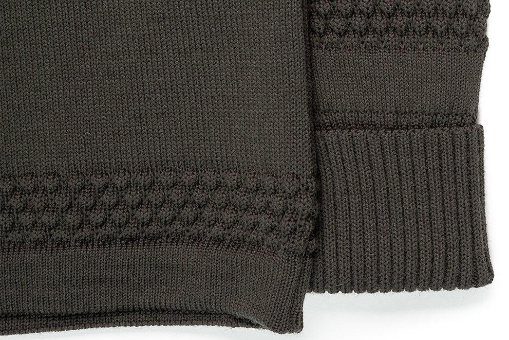 S.N.S.-Herning-Reels-in-Virgin-Wool-For-Its-Fisherman-Full-Zip-grey-sleeve