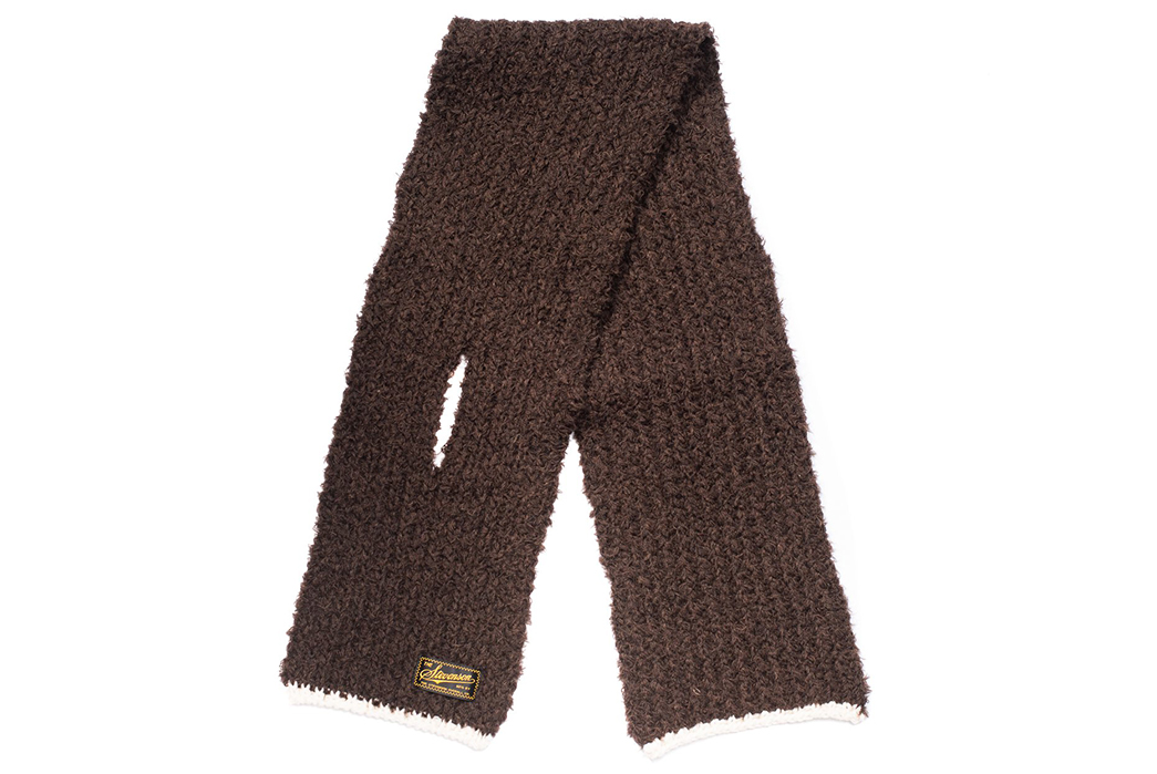 Stevenson-Overall-Co.-Muffles-the-Cold-With-Wool-Blend-Mufflers-brown