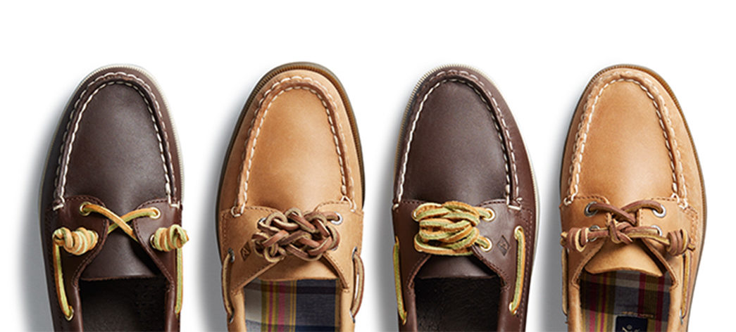 The-Different-Types-of-Shoelaces Image via Sperry.