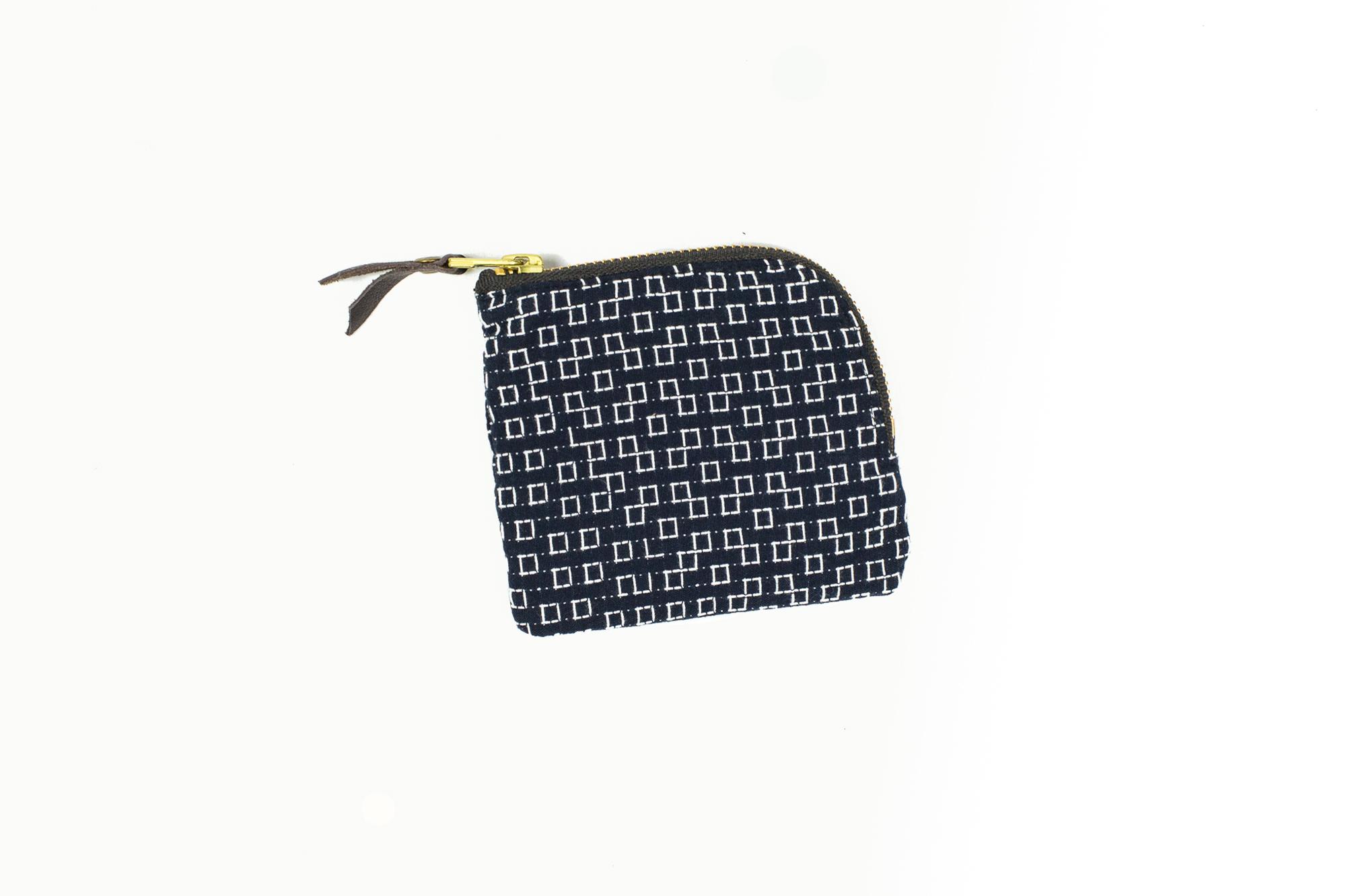 Get Your Stitch Fix With Kiriko's Sashiko Zip Wallet