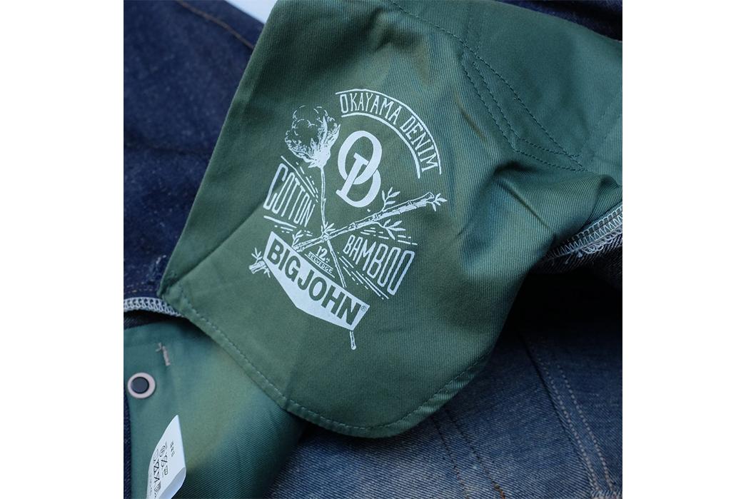 Big-John-&-Okayama-Denim-Come-Together-To-Weave-Recycled-Bamboo-into-12-oz.-Selvedge-Denim-inside-pocket-bag