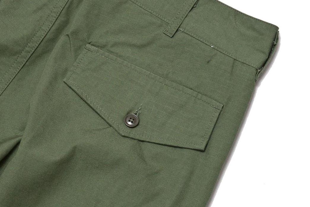 Engineered-Garments'-FA-Pant-Offer-A-Myriad-Of-pockets-back-pocket