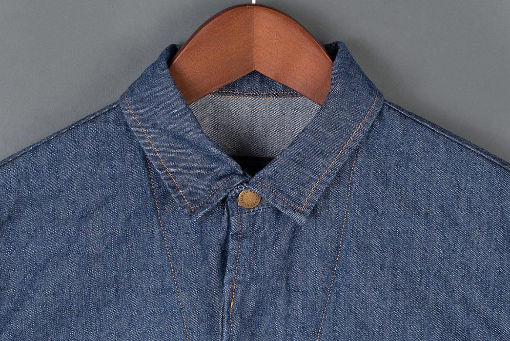 Krammer-&-Stoudt-Indigo-Carson-Jacket-front-collar