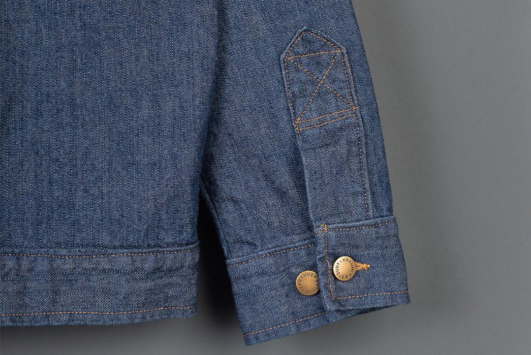 Krammer-&-Stoudt-Indigo-Carson-Jacket-sleeve