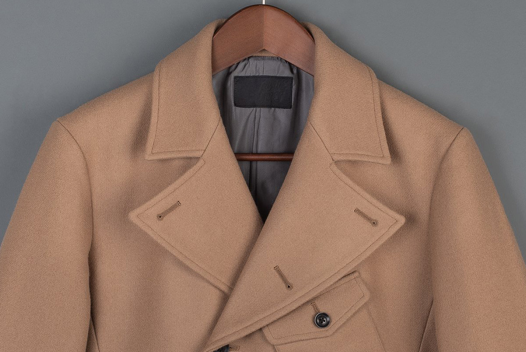 Nine-Lives-Dispatches-a-Japanese-Melton-Wool-WWII-Dispatch-Coat-front-top