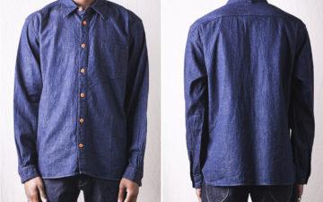 Orguiel-Sews-Up-an-8-Oz.-Denim-Shirt-model-front-back