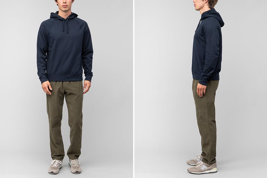 Pullover-Hoodies---Five-Plus-One-3)-Save-Khaki-Supima-Fleece-Pullover-Hoodie