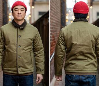 Stevenson-Overall-Co.-Civilian-Deck-Jacket-model-front-back