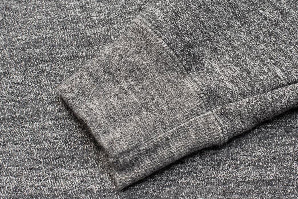 Stevenson-Overall-Co.-ZS-HG-Half-Zip-Sweatshirts-grey-sleeve