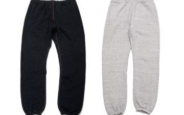 The-Real-McCoy's-Kicks-Back-With-10-Oz.-Loopwheeled-Sweatpants-dark-and-light