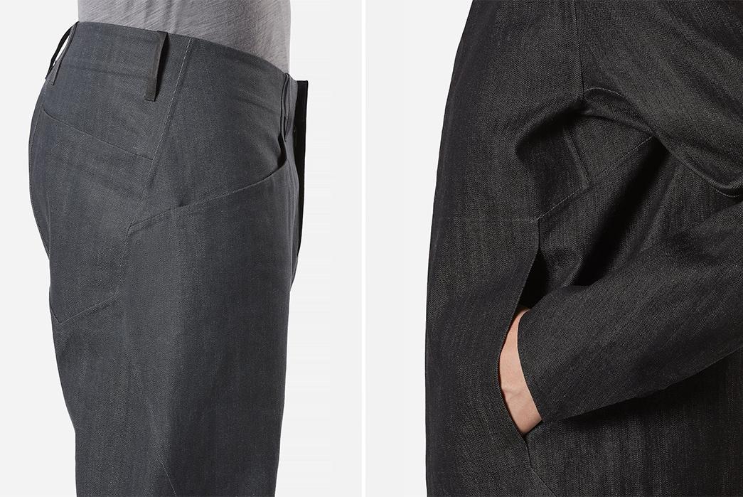 Veilance-Innovates-Lightweight-Raw-Japanese-Denim-Using-Hollow-Core-Yarns-sides