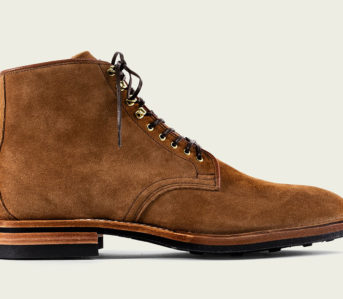 Viberg Unleashes a Trio of Calf Leather Derby Boots-single-side-light-brown