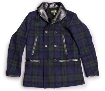 Weather-The-Storm-In-Himel-Bros.-Blackwatch-Harris-Tweed-Chinook-Coat