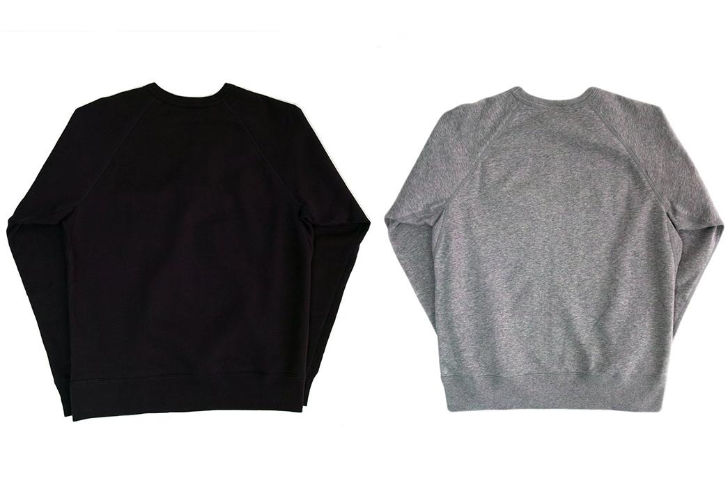 Battenwear-Reaches-Up-In-Raglan-Sweatshirts-back-black-and-grey