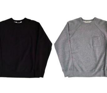 Battenwear-Reaches-Up-In-Raglan-Sweatshirts-front-black-and-grey