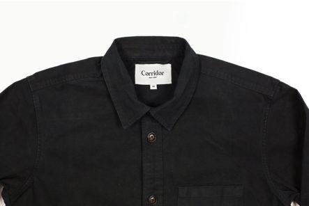 Corridor's-Heavy-Canvas-Overshirt-Is-No-Chore-To-Wear