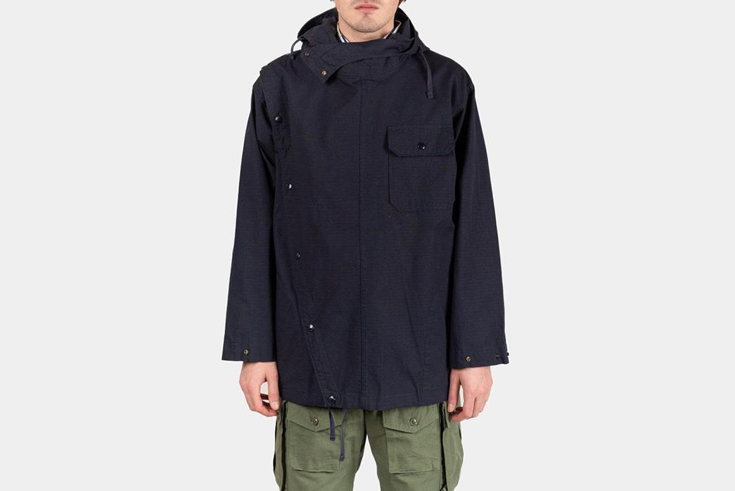 Engineered-Garments-Sonor-Jacket-Ripstop-model-front