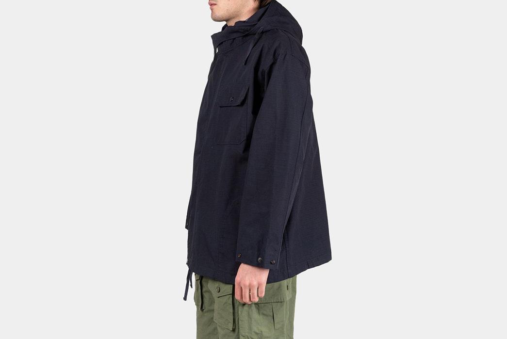 Engineered-Garments-Sonor-Jacket-Ripstop-model-side