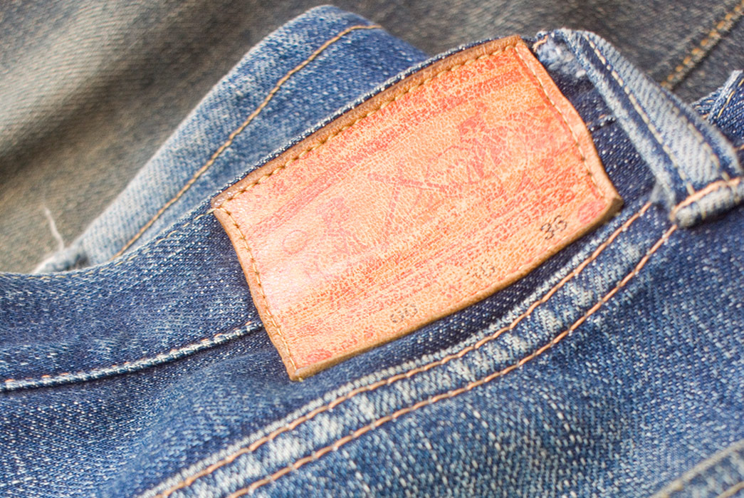 Fade-Friday---Samurai-S510XX-(Unknown-Wears,-Unkown-Washes)-back-leather-patch