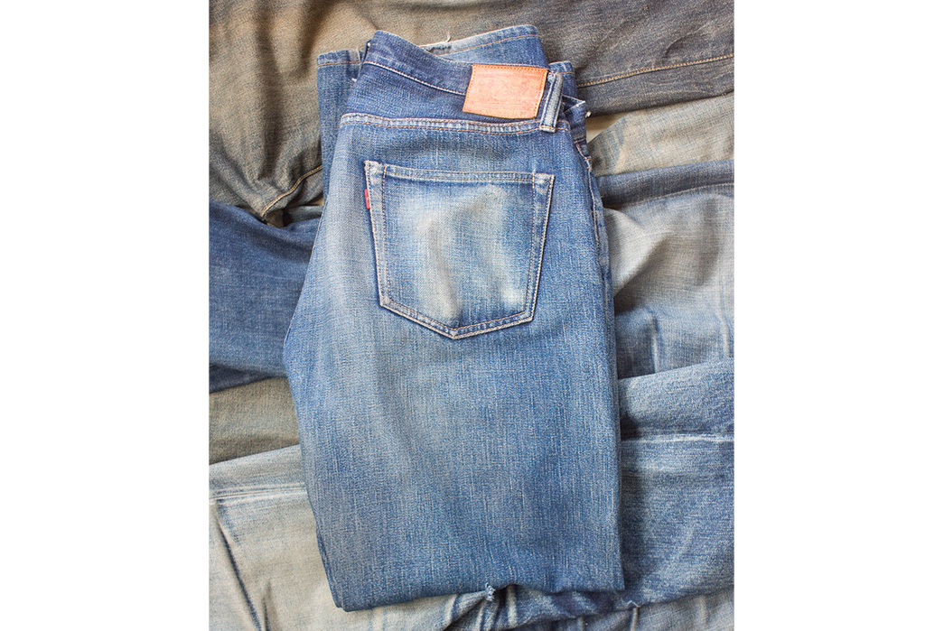 Fade-Friday---Samurai-S510XX-(Unknown-Wears,-Unkown-Washes)-folded