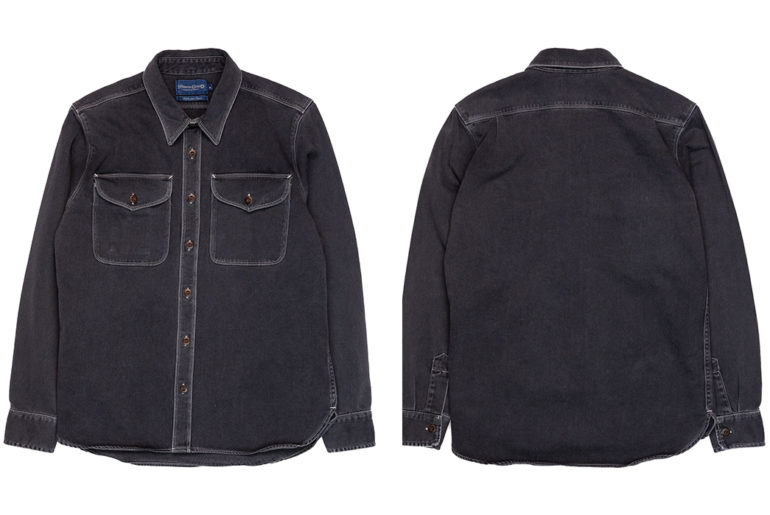 Freenote-Cloth-Utility-Shirt-Charcoal-front-back</a>