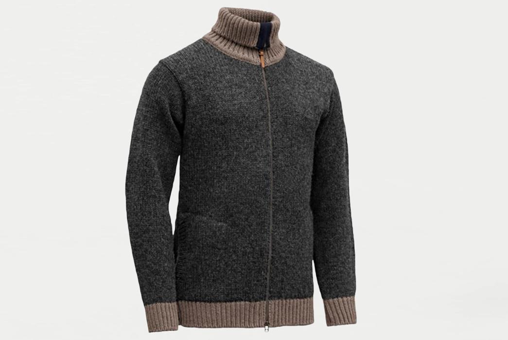 Full-Zip-Sweaters---Five-Plus-One-4)-Devold-of-Norway-Nansen-Cardigan 4) Devold of Norway: Nansen Cardigan