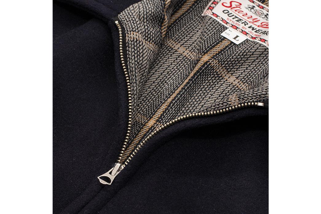 Jelado's-23428G-Jacket-Is-a-Melton-Wool-Hotshot-front-zipper