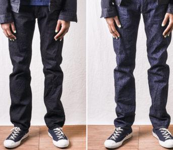 ONI-Renders-Its-515-Jean-In-Natural-Indigo-&-Sulfur-Dyed-'Kiraku'-Denim