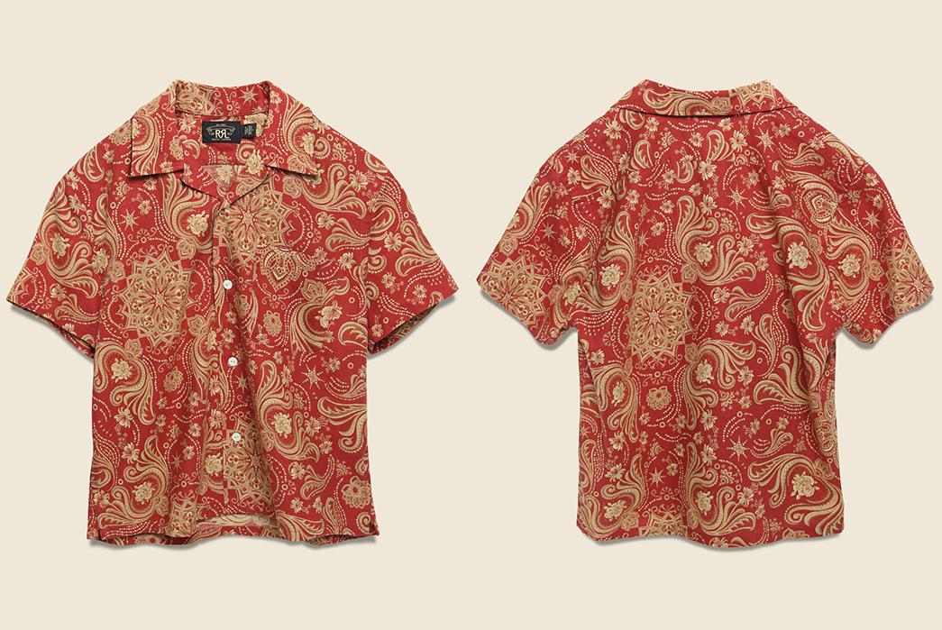 RRL-Blends-Cotton-&-Linen-For-a-Bandana-Print-Camp-Shirt-front-back