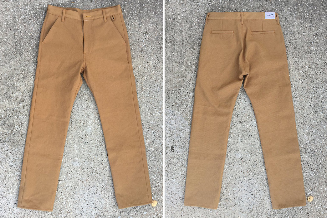 Selvedge-Trousers---Five-Plus-One-5)-CFD-Co-Selvedge-Duck-Canvas-Chinos