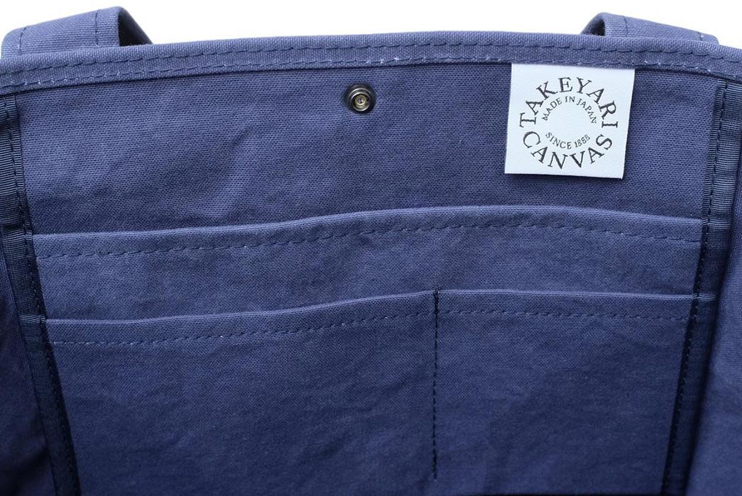 Takeyari-Canvas-Large-Tote-Bags-Are-Big-'n'-Waterproof-blue-open