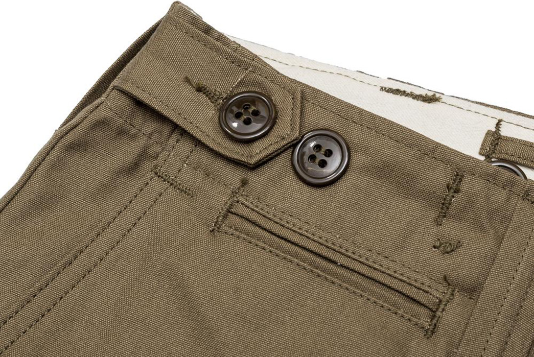 Warehouse-Reproduces-A-Less-Celebrated-Piece-Of-Military-Garb-With-Its-1205-Military-Chinos-buttons-and-pocket
