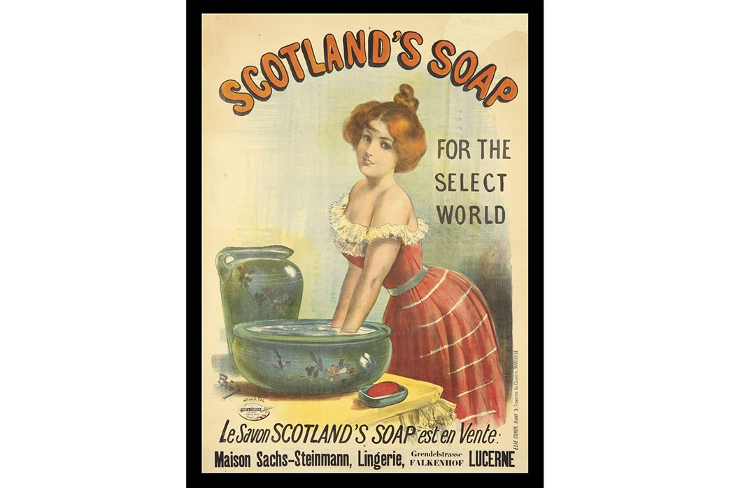 All-About-Soaps---Handmade,-Homemade,-and-Historical Scotland Soap. Image via Pinterest.