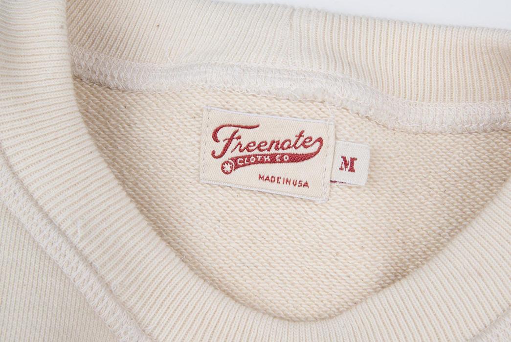 All-Hands-on-Freenote-Cloth's-Deck-Sweatshirt-top-collar-brand
