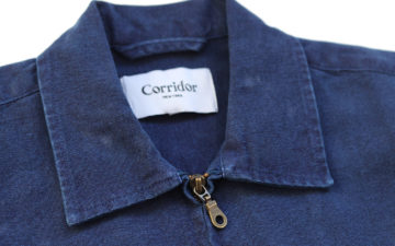 Corridor-NYC-Zips-Up-an-Indigo-Dyed-Duck-Canvas-Jacket