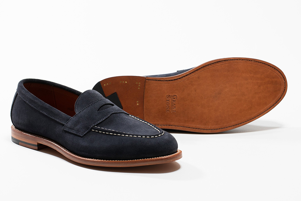 Don't-Step-on-my-Blue-Suede-Loafers-Grant-Stone-pair-side-and-bottom