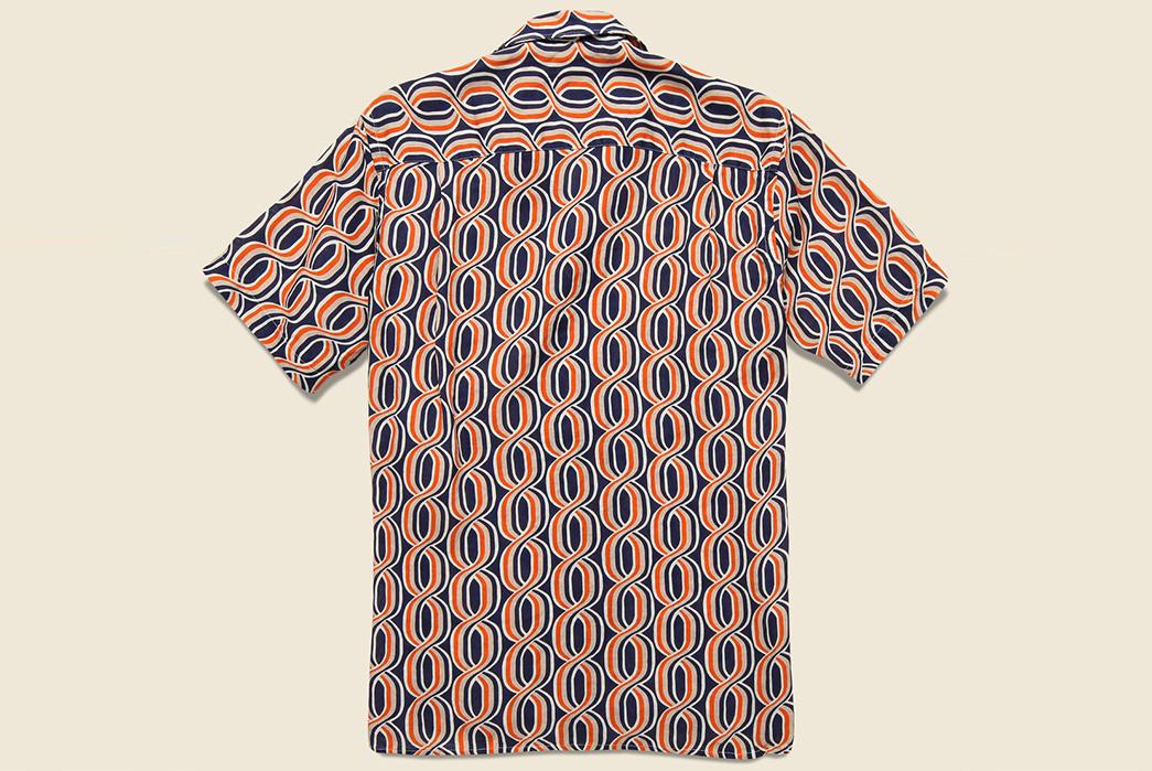 Gitman's-Mid-Century-Helix-Pattern-Camp-Shirt-back