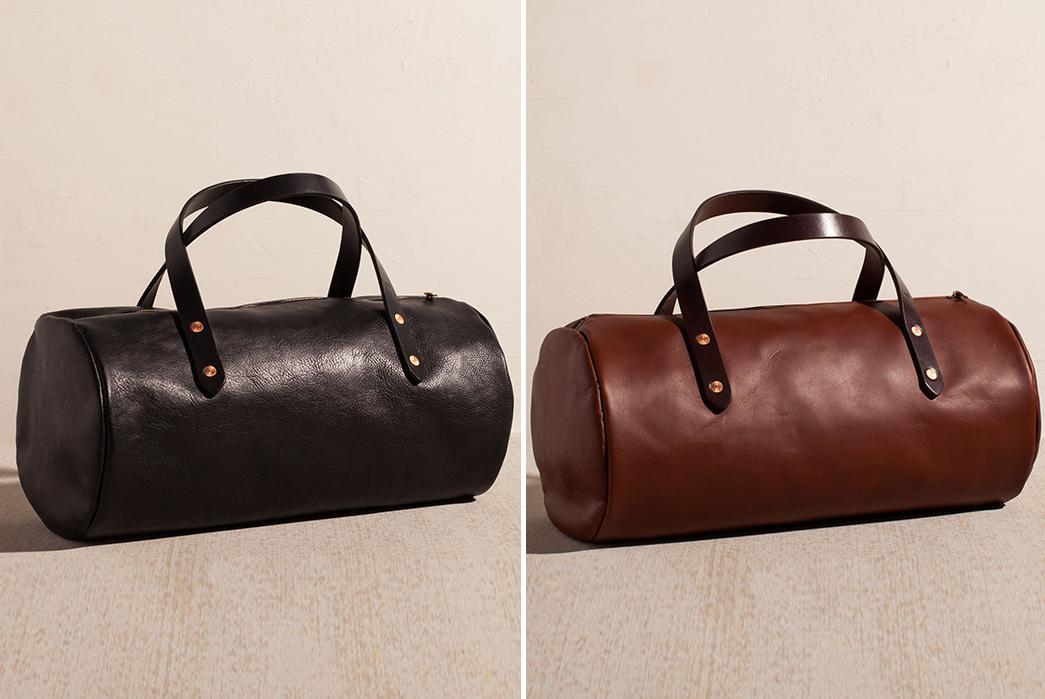 Leather-Duffel-Bags---Five-Plus-One-2)-Joshu+Vela-Small-Leather-Duffel