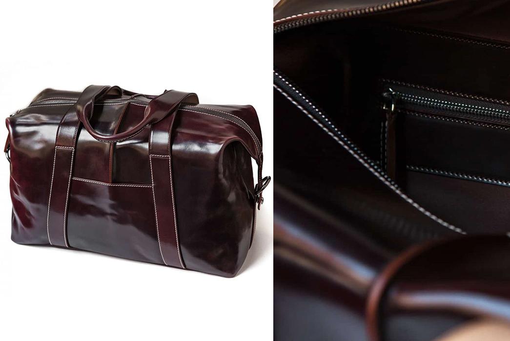 Leather-Duffel-Bags---Five-Plus-One-Plus-One---Leffot-Kreis-Shell-Cordovan-Duffel4